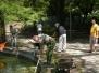 A tófelszín tisztítása (2012.05.05.)